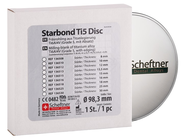 Image for Starbond Ti5 Disc with Step