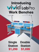 Vivid Labpro Double Workstation